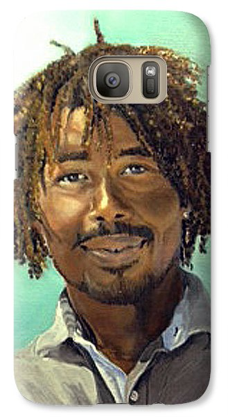 Galaxy Case featuring the painting Rufus by Lori Ippolito