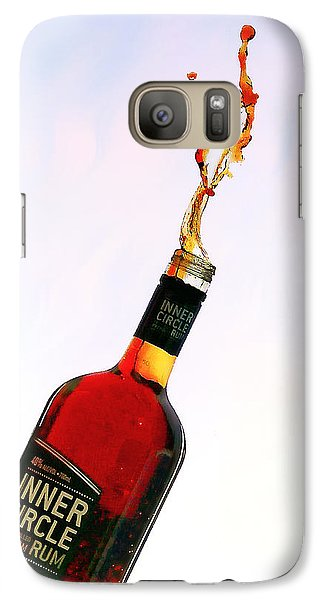 Galaxy Case featuring the photograph Rum Art 01 by Kevin Chippindall