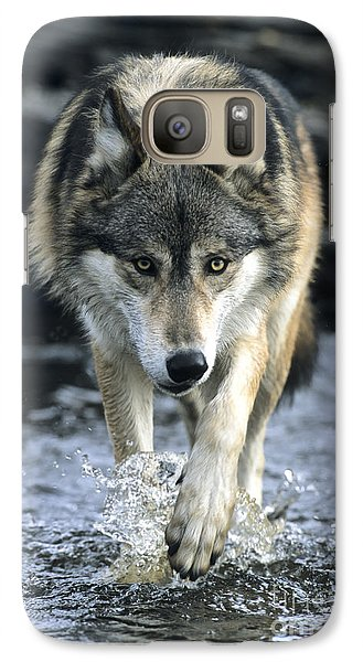 Running Wolf Galaxy S7 Case