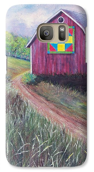 Galaxy Case featuring the painting Rural America's Gift by Susan DeLain