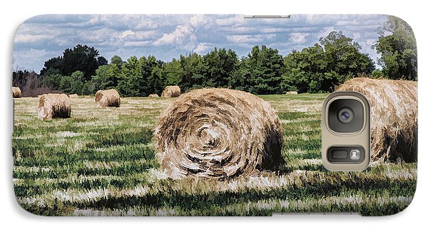 Galaxy Case featuring the painting Rural Georgia by Linda Blair