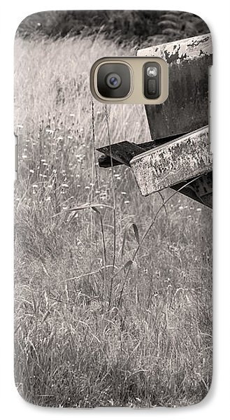 Galaxy Case featuring the photograph Rural Route Mail Call  by Jean OKeeffe Macro Abundance Art