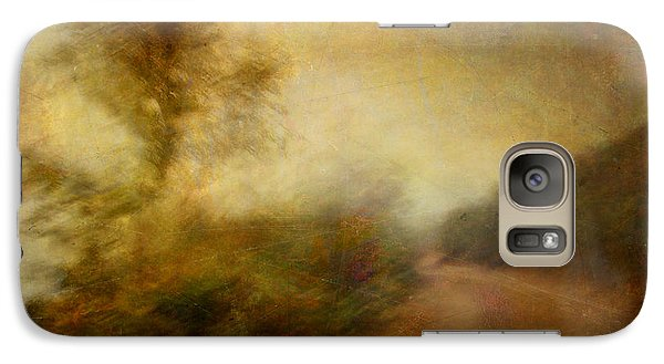 Galaxy Case featuring the photograph Ruralscape #11 - Rain And Dust by Alfredo Gonzalez