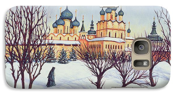 Russian Winter Galaxy Case by Tilly Willis