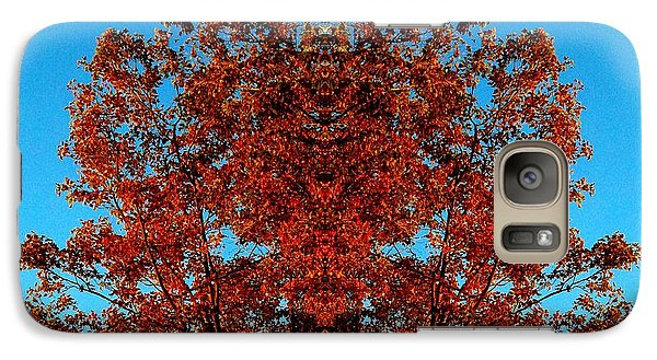 Galaxy Case featuring the photograph Rust And Sky 2 - Abstract Art Photo by Marianne Dow