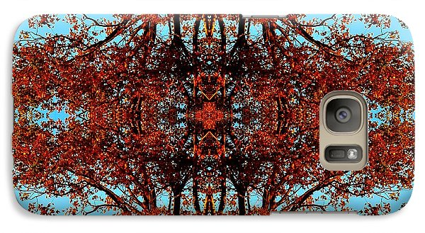 Galaxy Case featuring the photograph Rust And Sky 3 - Abstract Art Photo by Marianne Dow