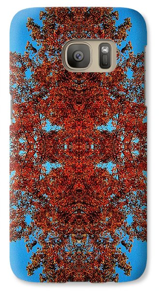 Galaxy Case featuring the photograph Rust And Sky 4 - Abstract Art Photo by Marianne Dow