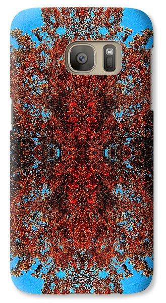 Galaxy Case featuring the photograph Rust And Sky 5 - Abstract Art Photo by Marianne Dow