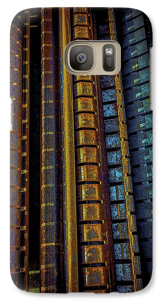 Galaxy Case featuring the photograph Rust Condos by Craig Perry-Ollila