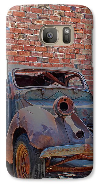 Galaxy Case featuring the photograph Rust In Goodland by Lynn Sprowl