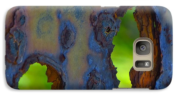 Galaxy Case featuring the photograph Rust In Peace by Joy Hardee