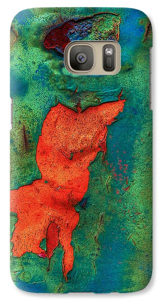 Galaxy Case featuring the photograph Rust Is Beautiful by Jerry Gammon