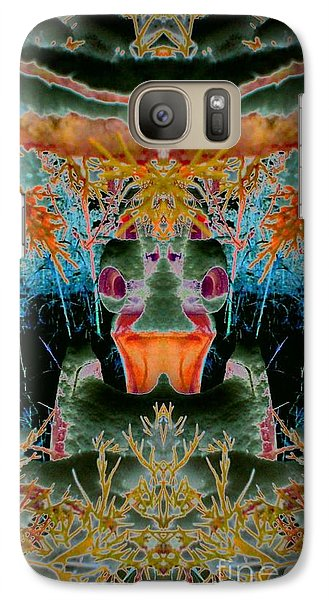 Galaxy Case featuring the photograph Rust Never Sleeps 2 by Karen Newell