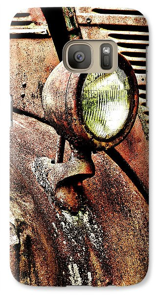 Galaxy Case featuring the photograph Rusted by Ron Roberts