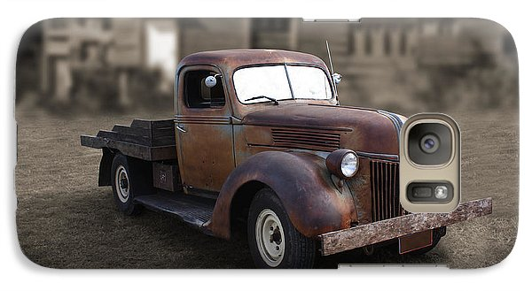 Galaxy Case featuring the photograph Rustic Ford Truck by Keith Hawley