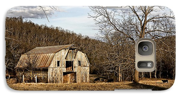 Galaxy Case featuring the photograph Rustic Hay Barn by Robert Camp