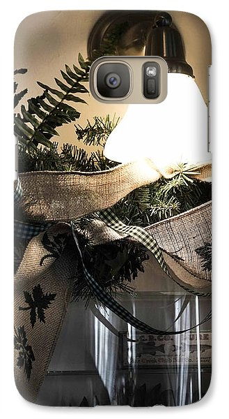 Galaxy Case featuring the photograph Rustic Holiday by Patricia Babbitt