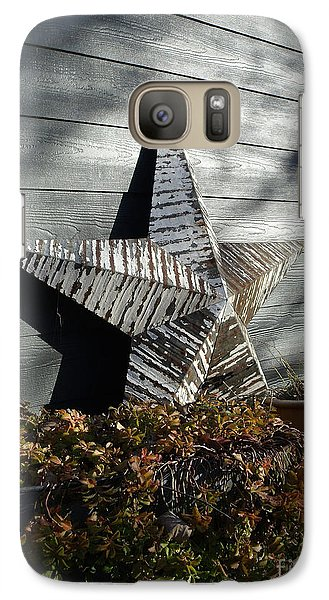 Galaxy Case featuring the photograph Rustic Star by Lyric Lucas