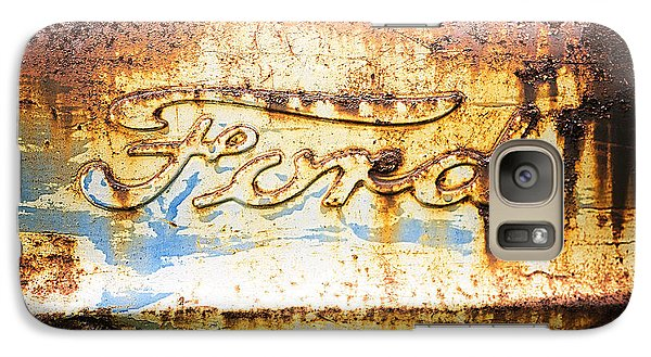 Rusty Old Ford Closeup Galaxy S7 Case