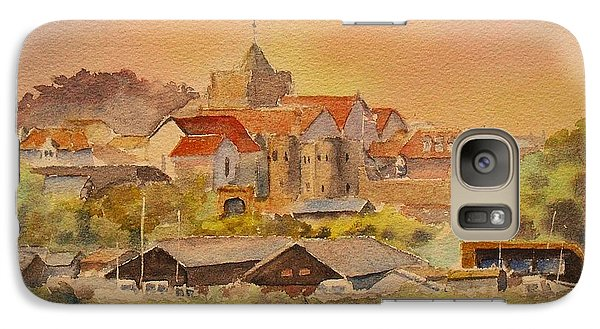 Galaxy Case featuring the painting Rye East Sussex Uk by Beatrice Cloake