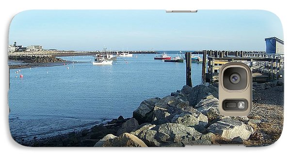Galaxy Case featuring the photograph Rye Harbor  by Eunice Miller
