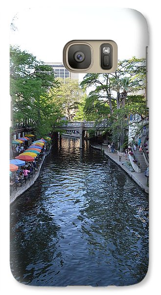 Galaxy Case featuring the photograph Sa River Walk 2  by Shawn Marlow