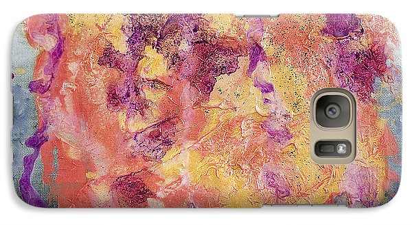 Galaxy Case featuring the painting Saccharide by Ron Richard Baviello