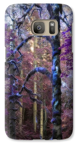 Galaxy Case featuring the photograph Sacred Forest by Amanda Eberly-Kudamik