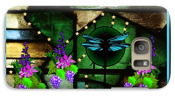 Galaxy Case featuring the digital art Sacred Garden by Mary Anne Ritchie
