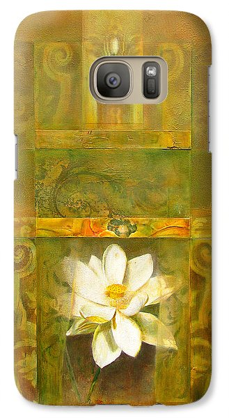 Galaxy Case featuring the painting Sacred Places by Brooks Garten Hauschild