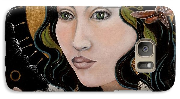 Galaxy Case featuring the painting Sacred by Sheri Howe
