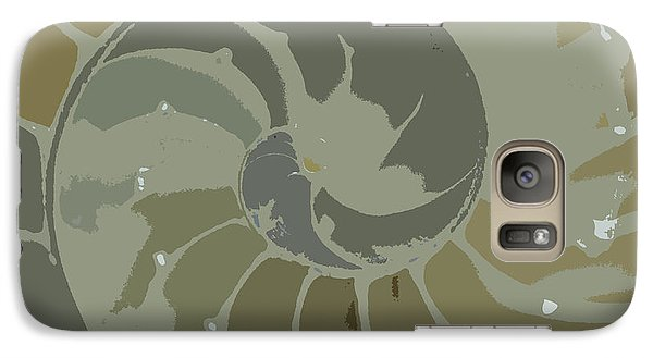 Galaxy Case featuring the photograph Sacred Spiral 5 by Jeanette French