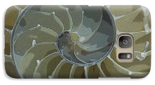 Galaxy Case featuring the photograph Sacred Spiral 6 by Jeanette French