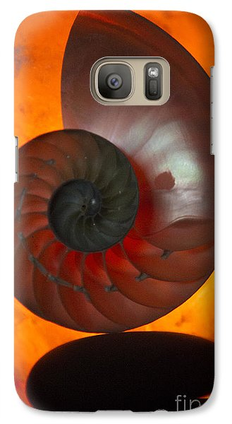 Galaxy Case featuring the photograph Sacred Spiral by Jeanette French