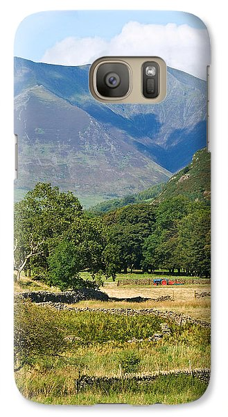 Galaxy Case featuring the photograph Saddleback Mountain by Jane McIlroy