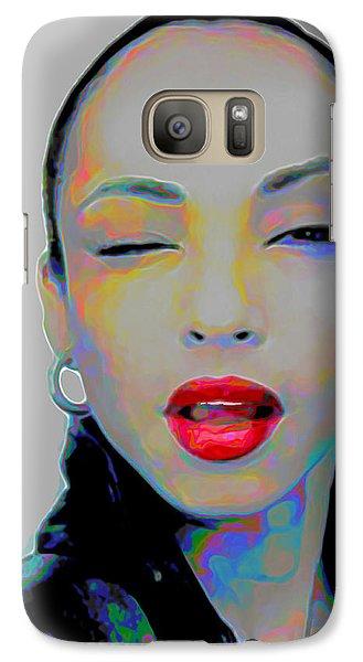Rhythm And Blues Galaxy S7 Case - Sade 3 by Fli Art
