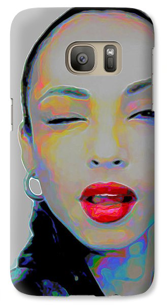 Rhythm And Blues Galaxy S7 Case - Sade 3 by Fli Art