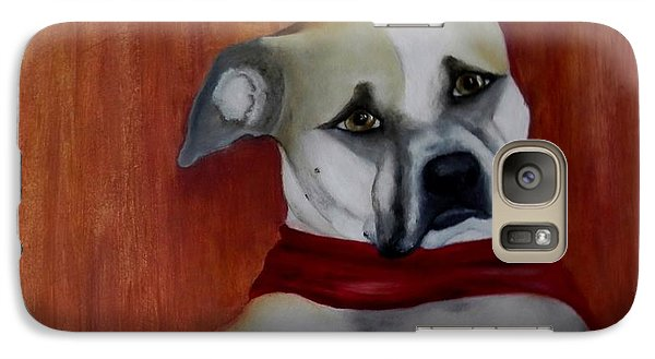 Galaxy Case featuring the painting Sadie by Annamarie Sidella-Felts