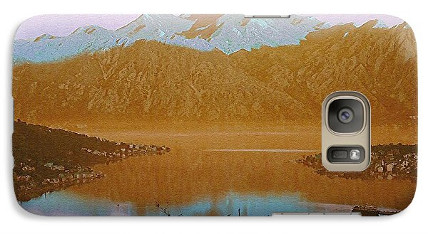 Galaxy Case featuring the photograph Safe Harbor Montenegro by Ann Johndro-Collins