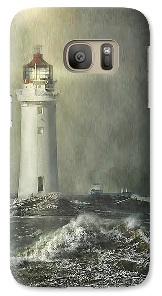 Galaxy Case featuring the photograph Safe Passage by Brian Tarr