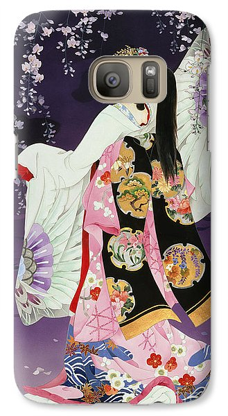 Sagi No Mai Galaxy S7 Case by Haruyo Morita