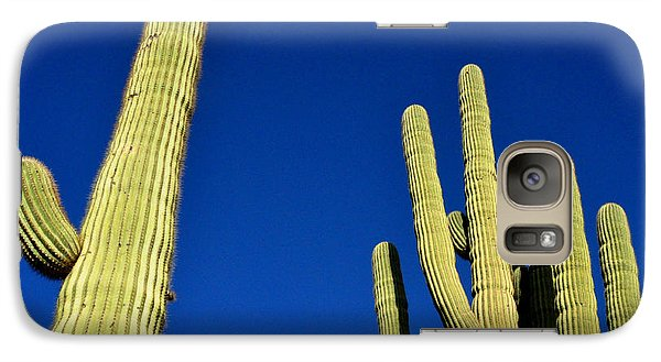 Galaxy Case featuring the photograph Saguaro National Forest Tucson Az by Diane Lent