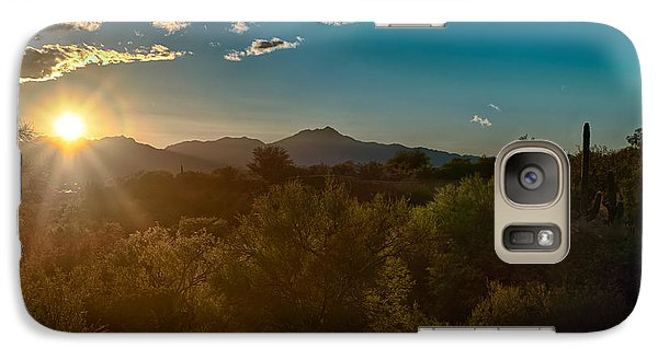Galaxy Case featuring the photograph Saguaro National Park by Dan McManus