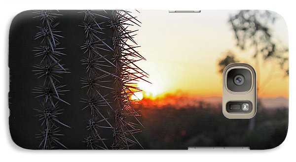 Galaxy Case featuring the photograph Sagurao Sunset by Gary Kaylor