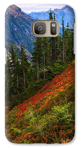 Sahale Arm Galaxy S7 Case by Inge Johnsson
