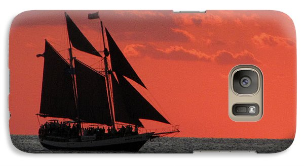 Key West Sunset Sail 5 Galaxy S7 Case