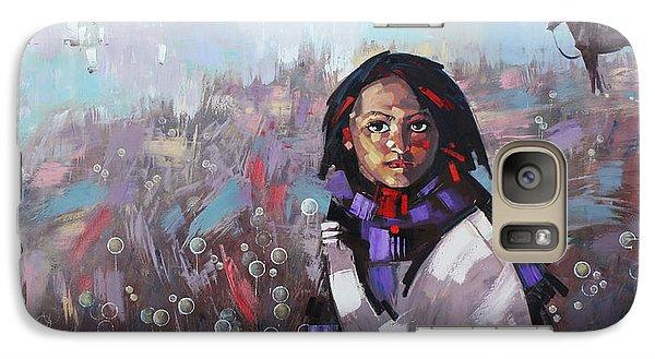 Galaxy Case featuring the painting Sail  by Anastasija Kraineva