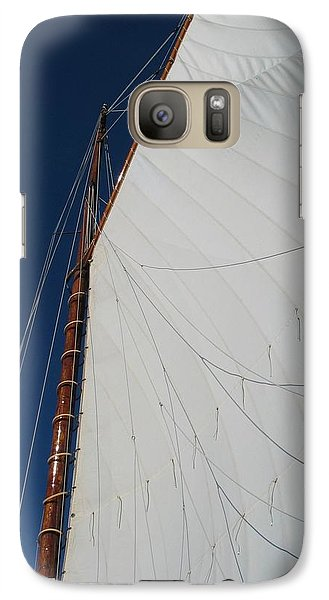 Galaxy Case featuring the photograph Sail Away With Me by Photographic Arts And Design Studio
