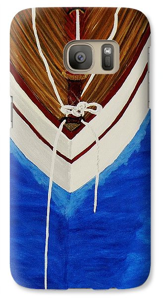 Galaxy Case featuring the painting Sail On by Celeste Manning