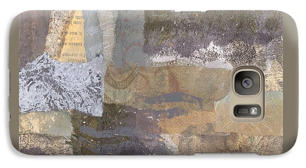 Galaxy Case featuring the mixed media Sail Out For Good Eidolon Yacht by Catherine Redmayne